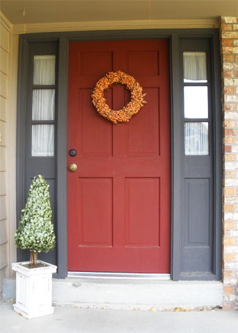 Painted Front Door front doors - welcome home | interior painters - cabinet painters