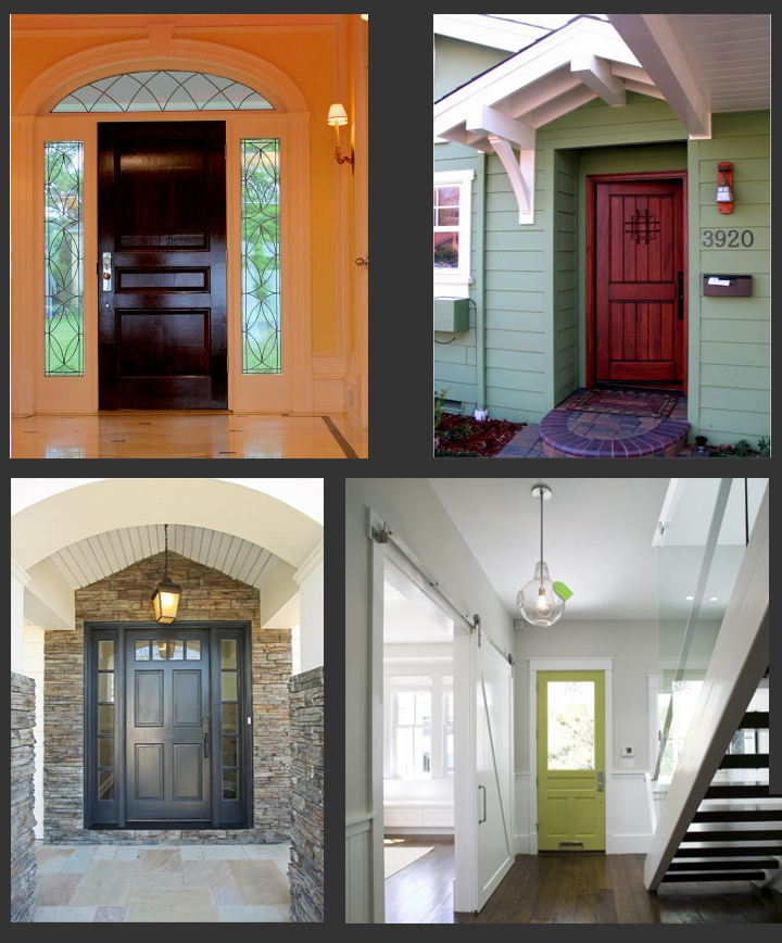 Painted Front Entrance Doors Submited Images