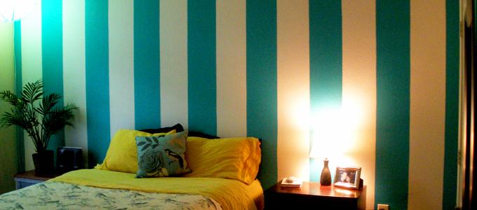 Custom Painters Denver Vertical Stripes