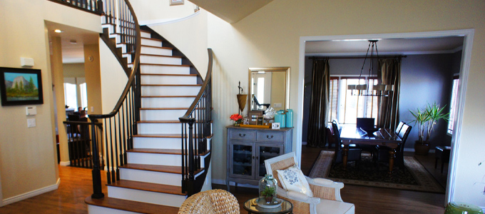 painted stairs interior painters denver