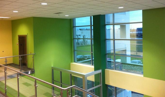 Denver commercial painting interior painters cabinet painters mod paint works - Small business space paint ...