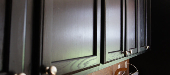 Painted Cabinets For Your Home Interior Painters  Cabinet Painters Mod Paint Works Interior - How To Refinish Painted Kitchen Cabinets