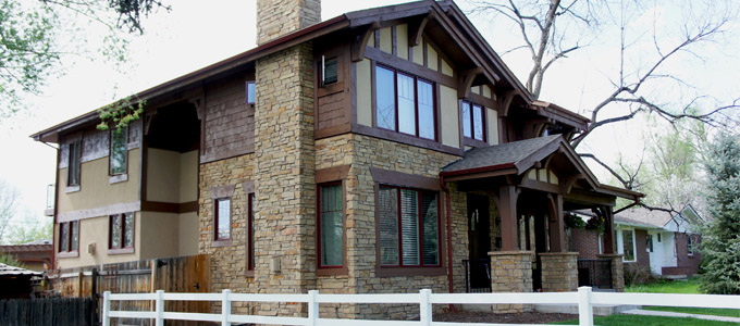 Exterior Home Staining in Denver | Interior Painters - Cabinet ...