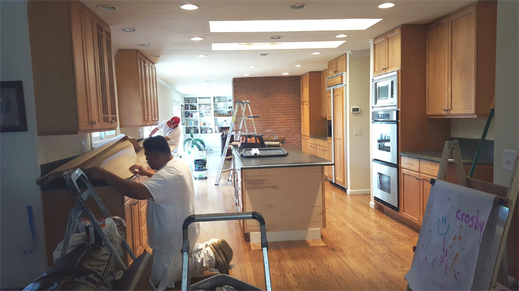 Cabinet Painting Interior Painters Cabinet Painters Mod Paint Fascinating Kitchen Remodel Denver Co Painting