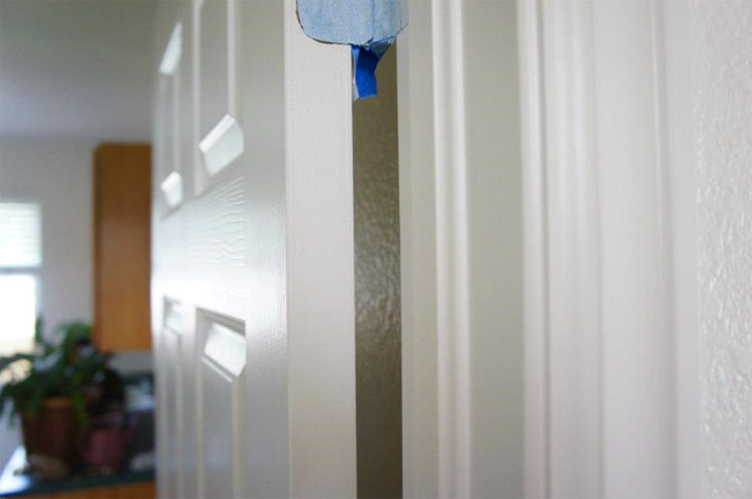 interior trim painting door painting