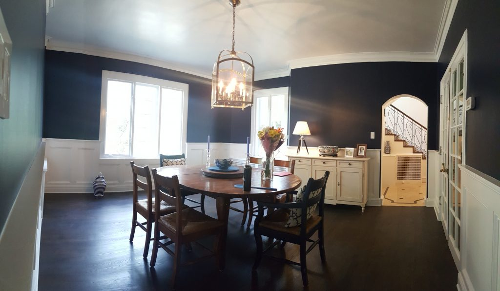 dining room interior paint