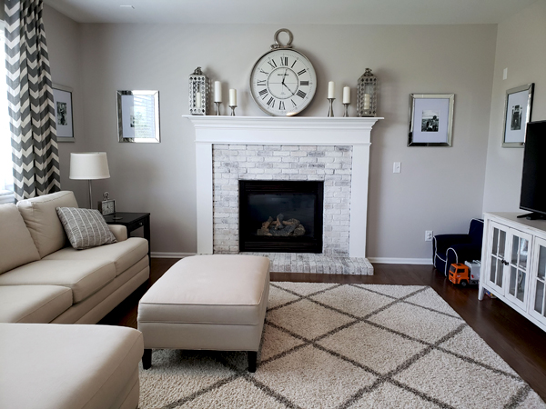 family room interior paint denver
