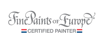 Fine Paints of Europe Certified Painter Logo